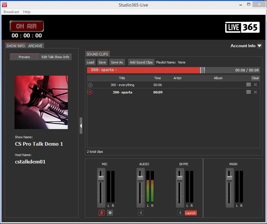 studio365 live